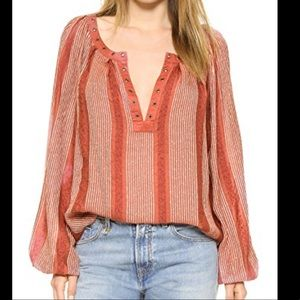 Free People against All Odds Stripe Boho Top